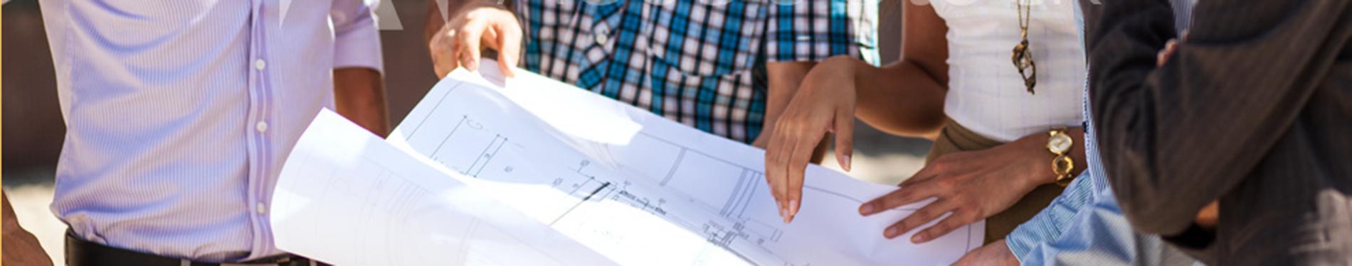 subcontractors reading plans